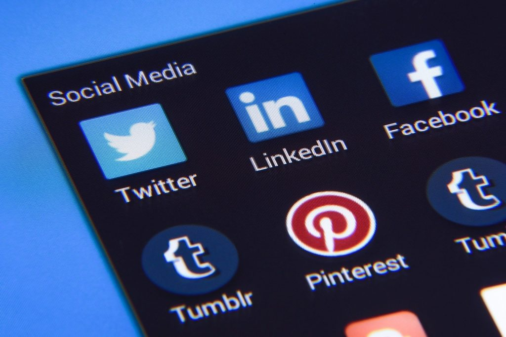 Social Media Discovery Page